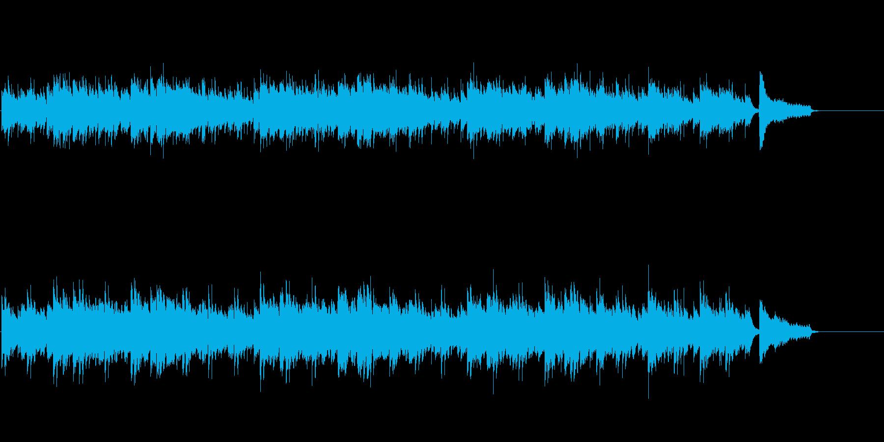 シタールが情緒を醸し出すミュージックの再生済みの波形