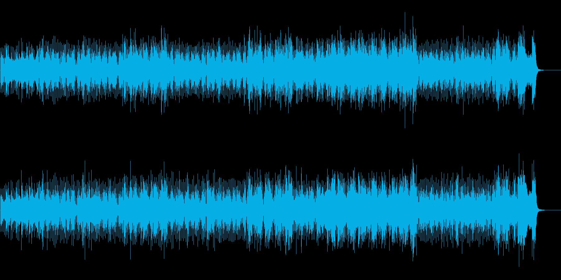 表情豊かなアーバン風ニュー・ミュージックの再生済みの波形