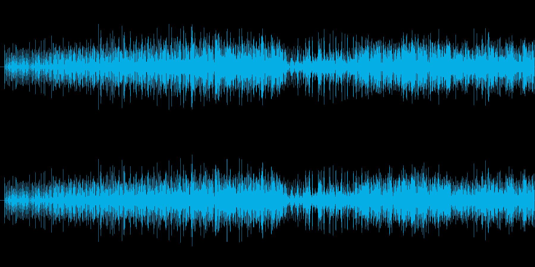 アルペジオとパーカッションを組み合わせ…の再生済みの波形