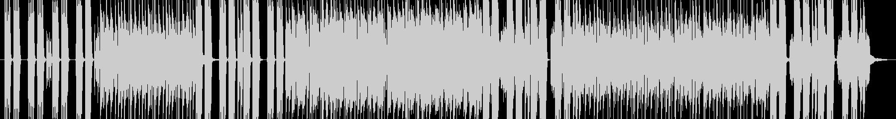 インパクトのあるハードロックBGM の未再生の波形