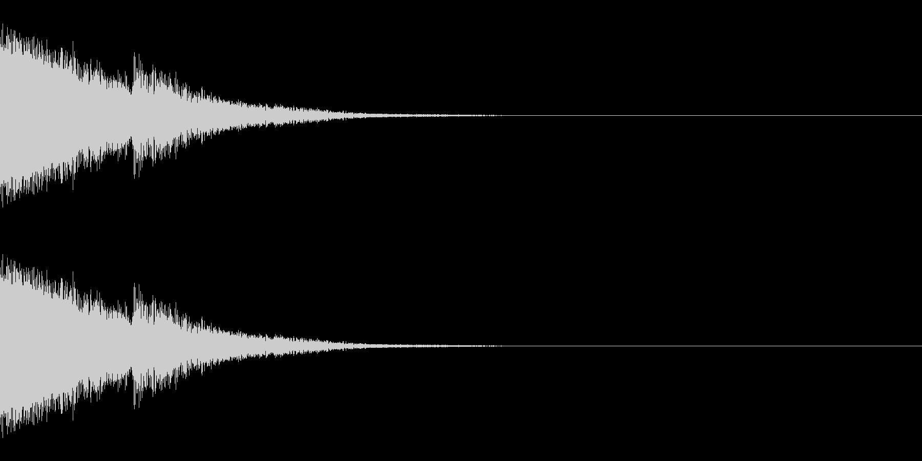 バーン(ボス出現/強そう/バトル)の未再生の波形