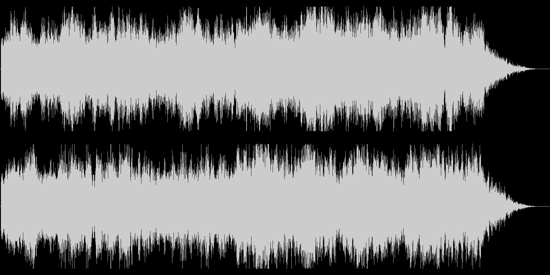 ハロウィン系 ミステリアスなジングルの未再生の波形