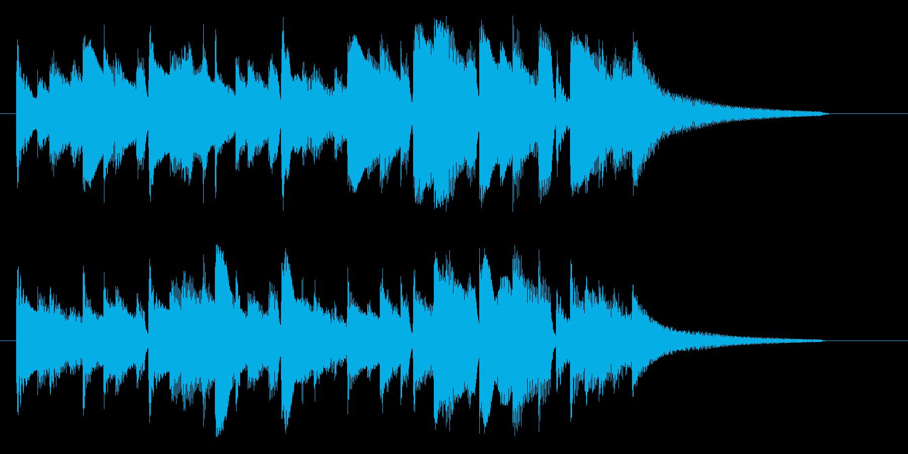 悲しげなキャラ アイキャッチの再生済みの波形