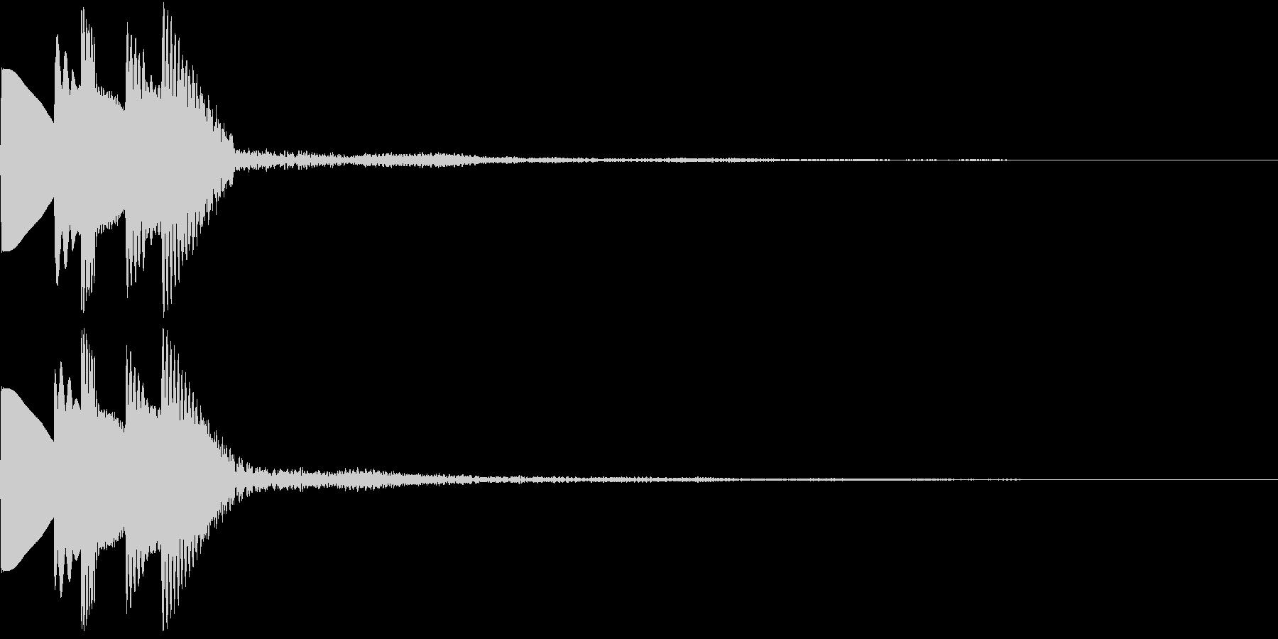 GameSFX アイテム獲得・スキルUPの未再生の波形