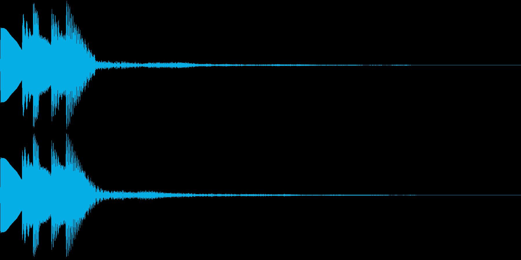 GameSFX アイテム獲得・スキルUPの再生済みの波形