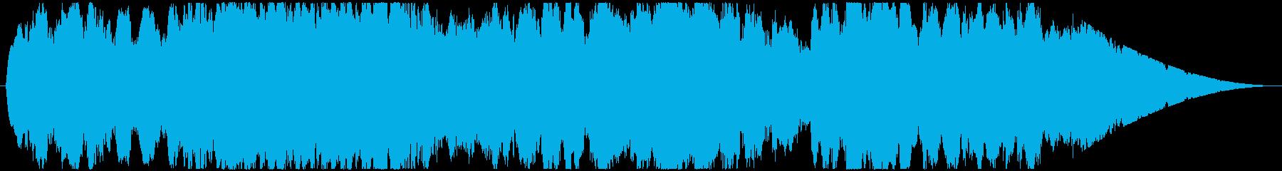 神秘的な曲。の再生済みの波形