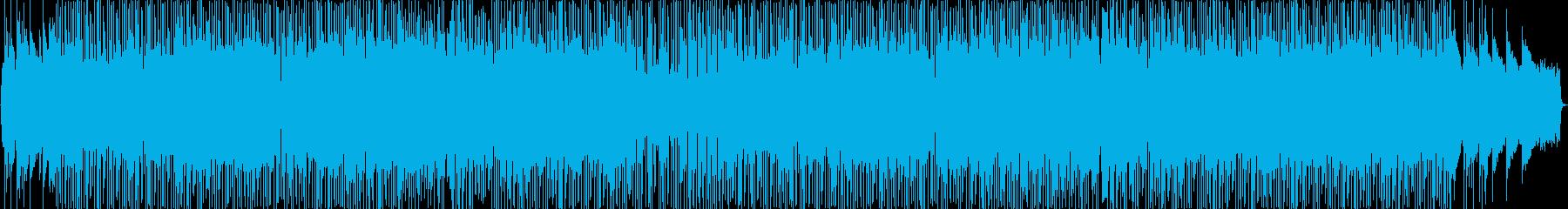 オルガンが印象的なファンキーなポップスの再生済みの波形
