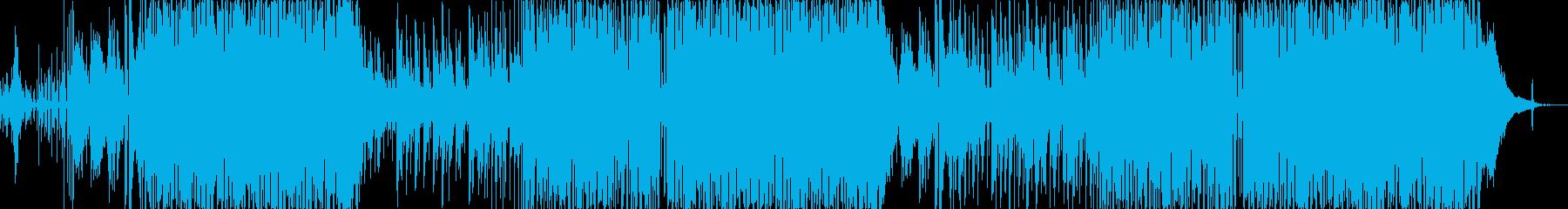 すがすがしいアコースティックなボサノバの再生済みの波形