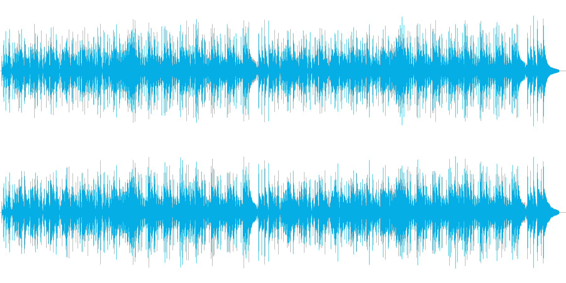 穏やかな雰囲気のポップス/イージーリス…の再生済みの波形