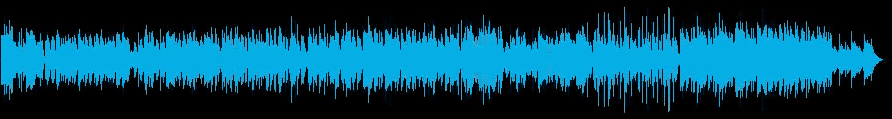 コンガが良いアクセントとなって、ほのぼ…の再生済みの波形