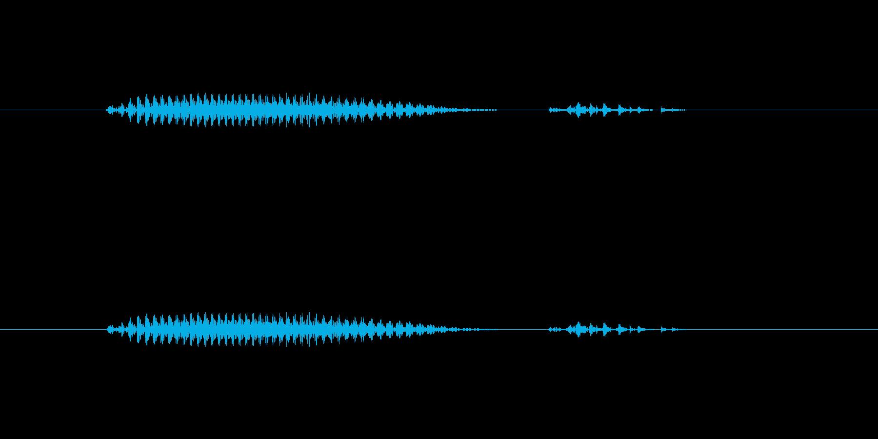 大分(県名)の再生済みの波形