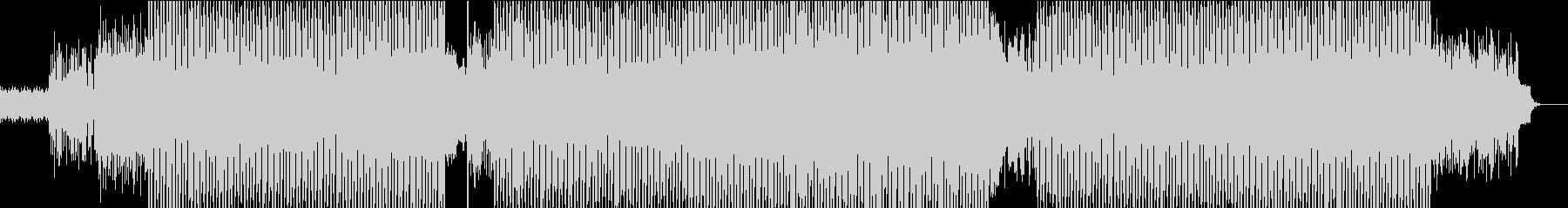 テクノポップの未再生の波形