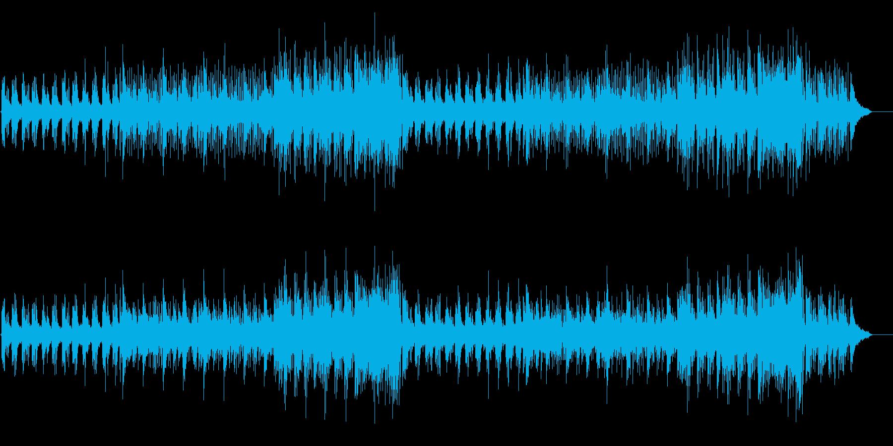 美旋律シリアス AOR風の再生済みの波形