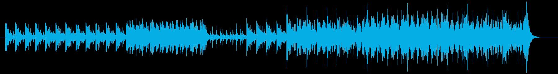 太鼓を使用したBGMのその2です。の再生済みの波形