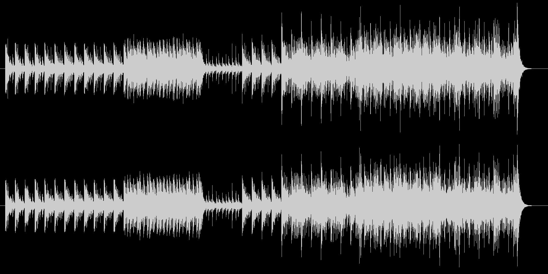 太鼓を使用したBGMのその2です。の未再生の波形