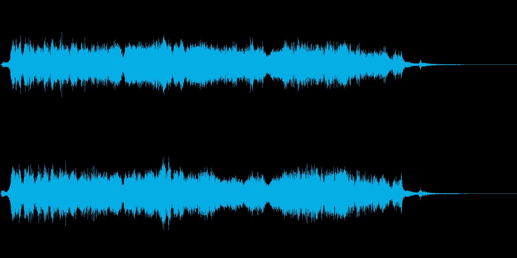 ギギギー(激しいノイズの金属音)の再生済みの波形