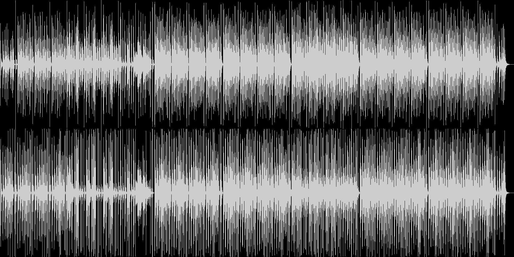 メディアでよく聴くライトアコースティックの未再生の波形