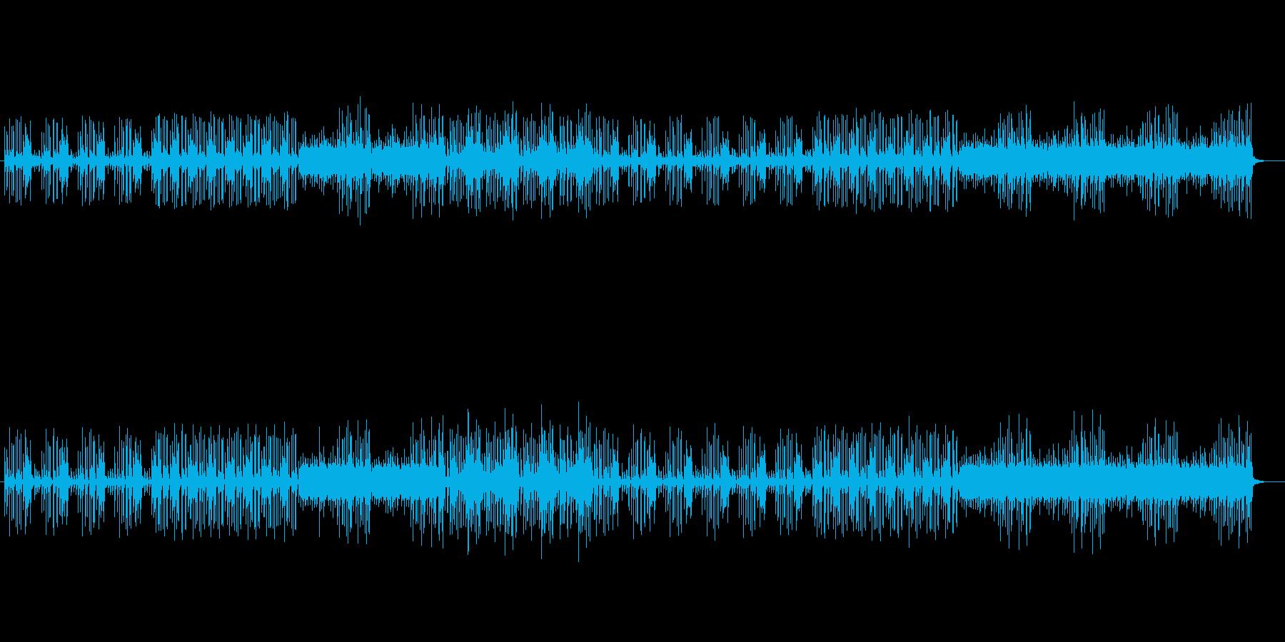 透明感があり木琴が印象的なテクノの再生済みの波形