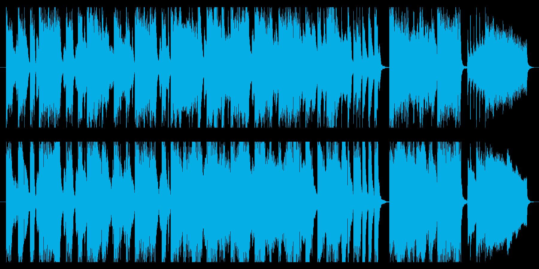 CM 30秒サイズ 軽やかな気分での再生済みの波形