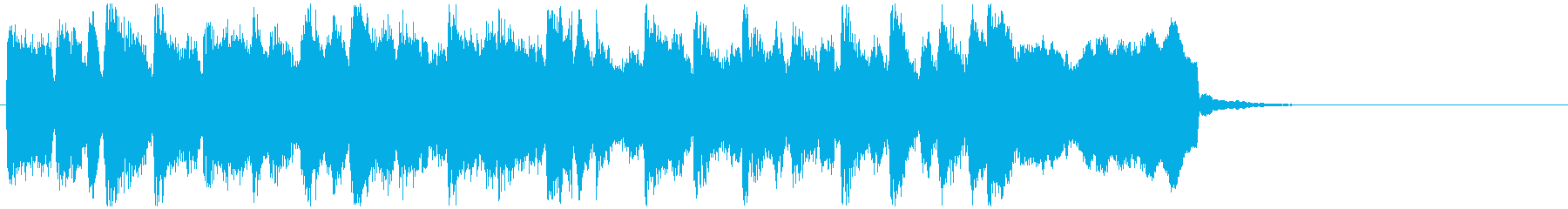 ピクニック系リコーダーポップスのジングルの再生済みの波形