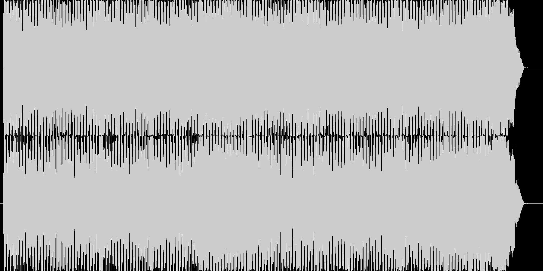 いなたいギターサウンドの未再生の波形