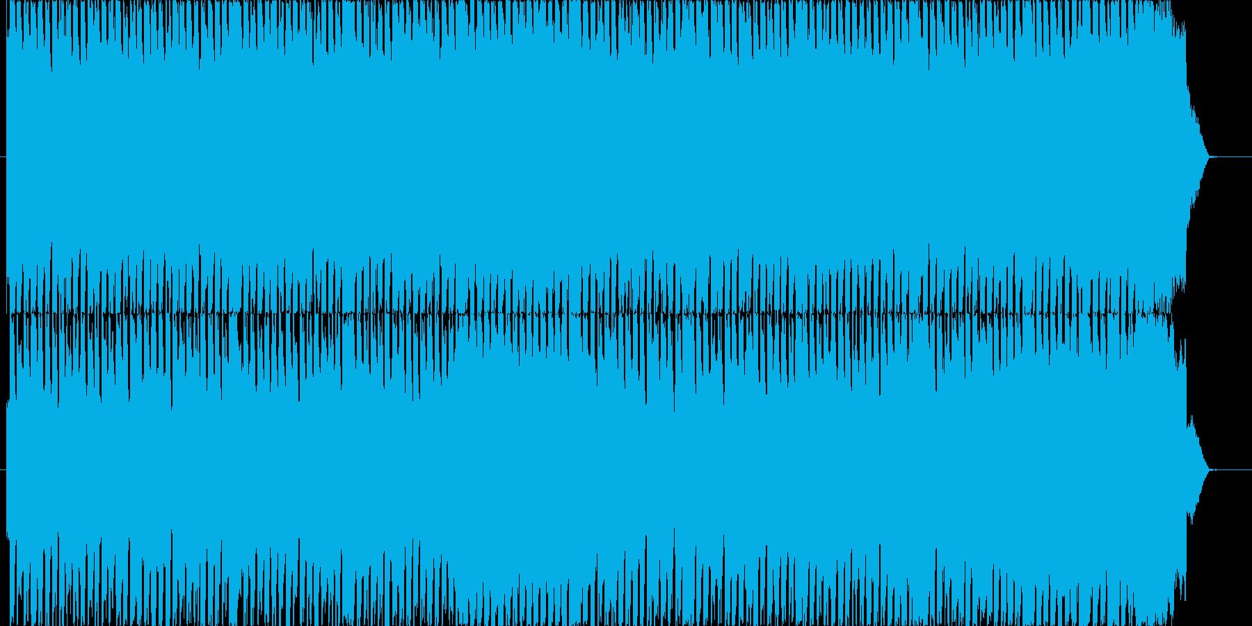 いなたいギターサウンドの再生済みの波形
