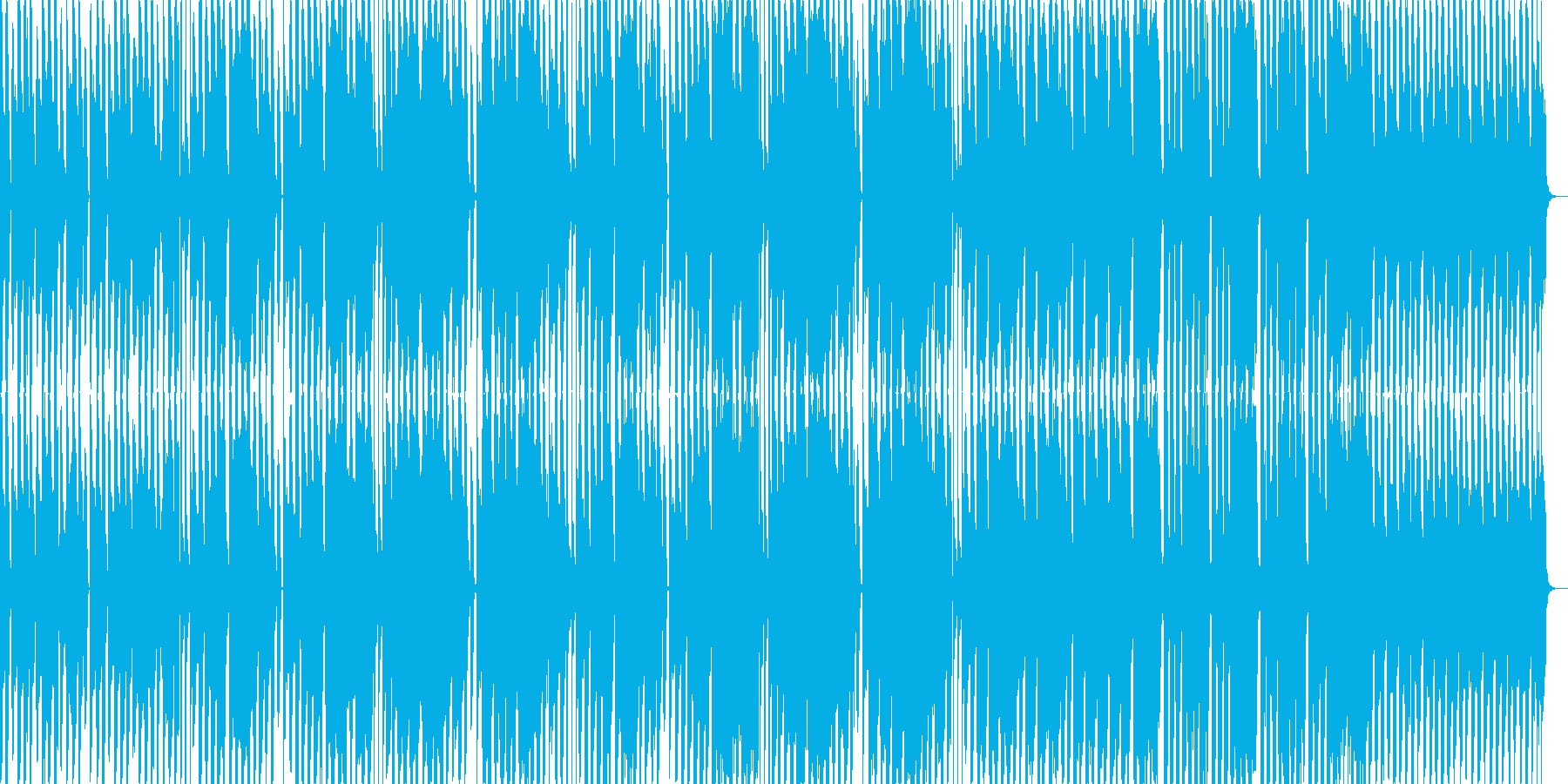 異質なポップギターの再生済みの波形