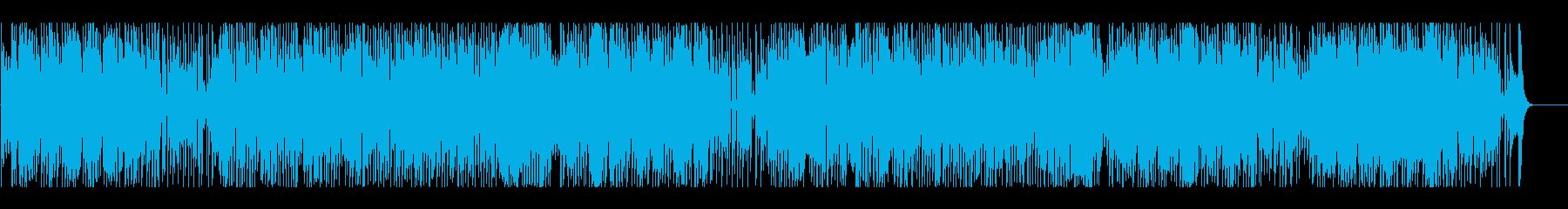 楽しい 元気 ほのぼの いきいきの再生済みの波形
