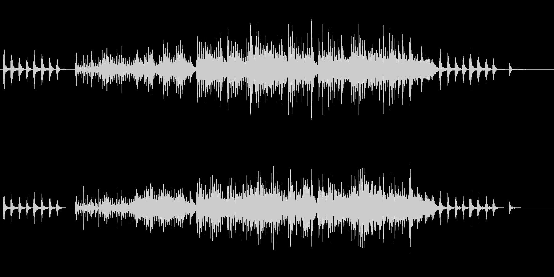 【ピアノ】映像系に合いそうな切ないピアノの未再生の波形