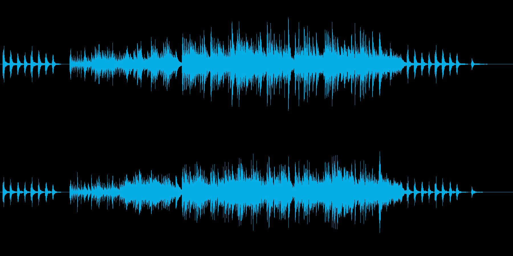 【ピアノ】映像系に合いそうな切ないピアノの再生済みの波形