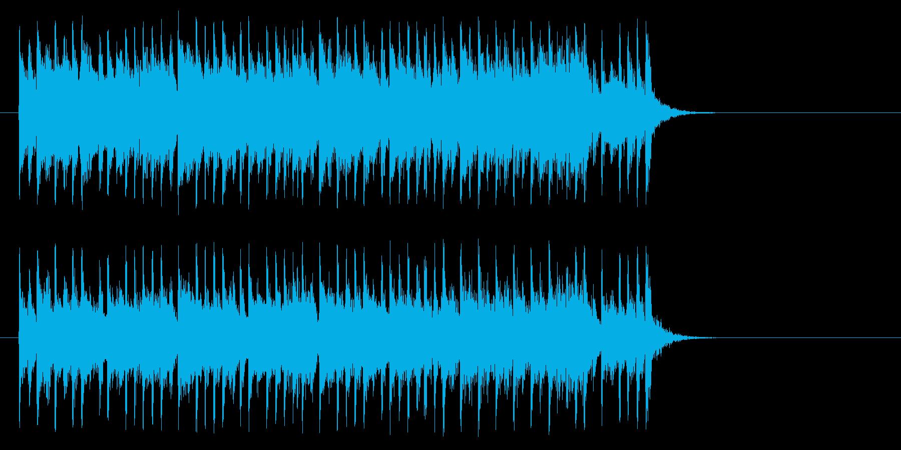 楽しいR&R/ポップ(サビ)の再生済みの波形