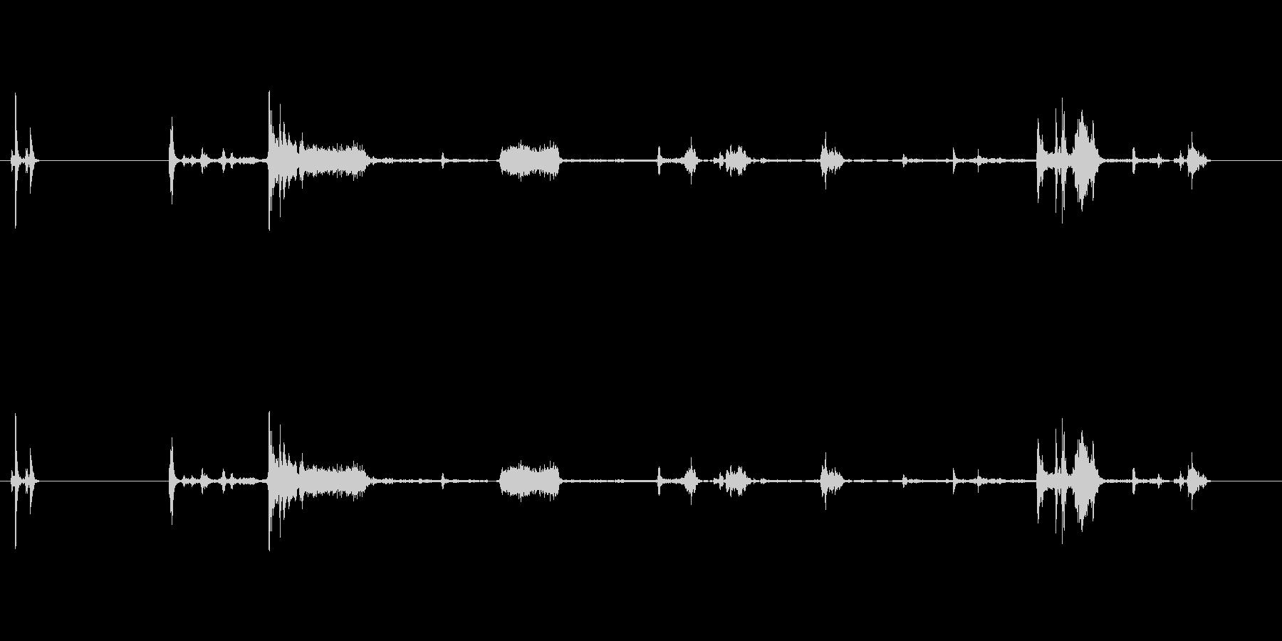 【プリンター01-on2】の未再生の波形