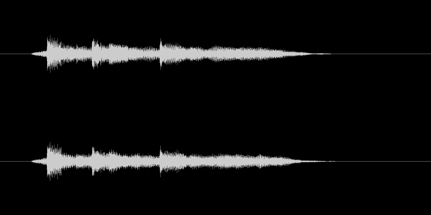 ポロンポロンポーン(メローなギターの音)の未再生の波形