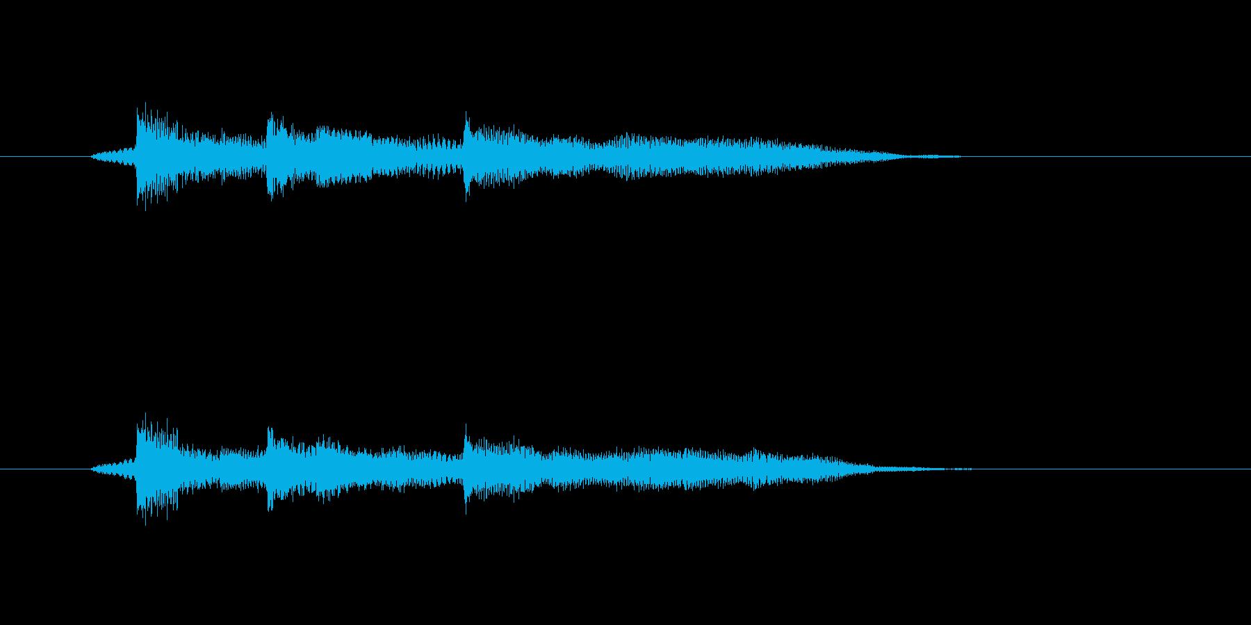 ポロンポロンポーン(メローなギターの音)の再生済みの波形