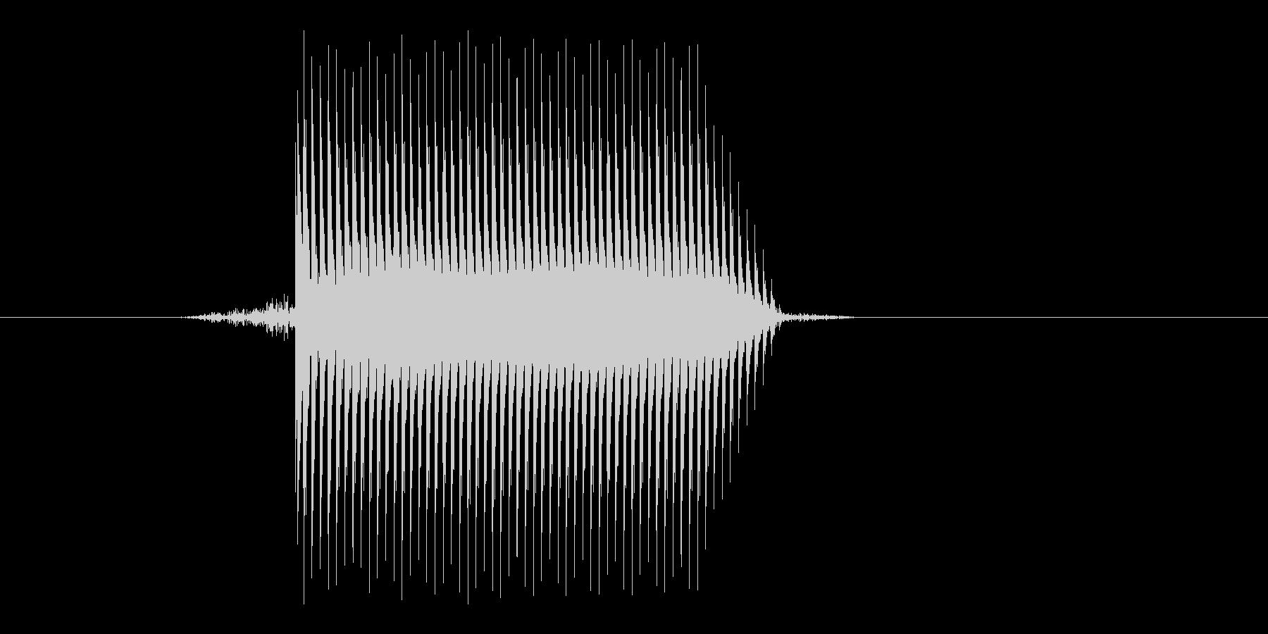 ゲーム(ファミコン風)セレクト音_042の未再生の波形