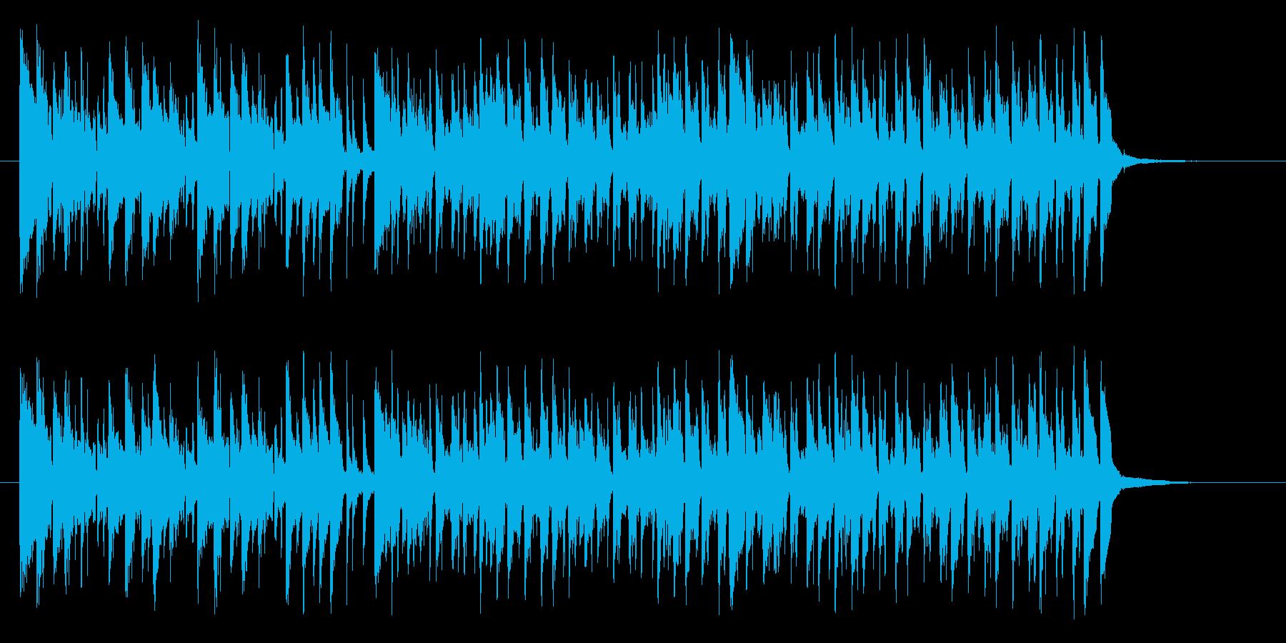 スティールパンが印象的な常夏ミュージックの再生済みの波形