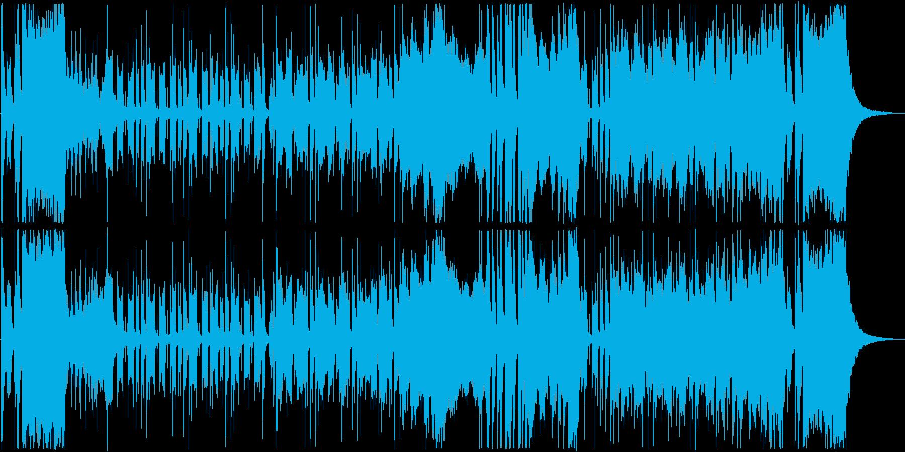 ダーティーなイメージがするジャズの再生済みの波形