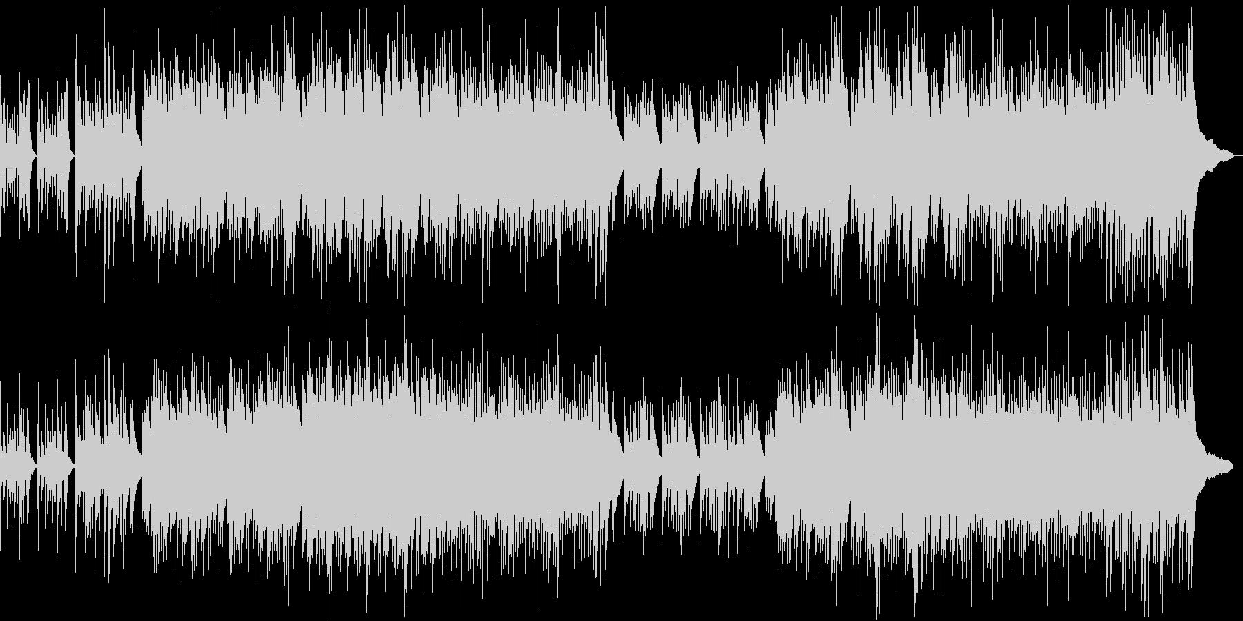 出会いをイメージしたピアノ曲の未再生の波形