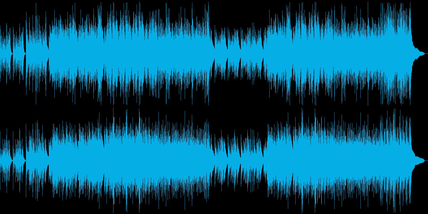 出会いをイメージしたピアノ曲の再生済みの波形