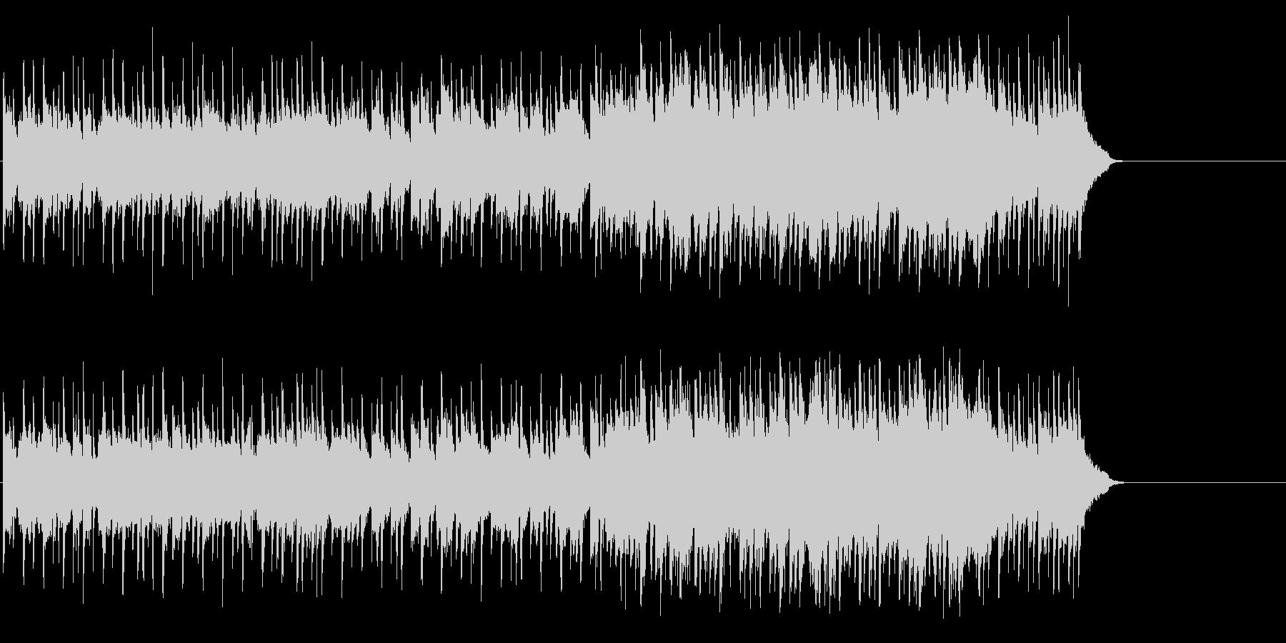 爽快に疾走するポップ(イントロ~A~…)の未再生の波形