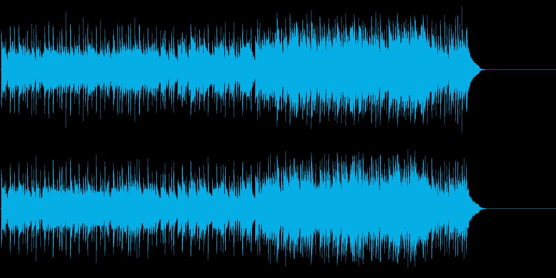 爽快に疾走するポップ(イントロ~A~…)の再生済みの波形