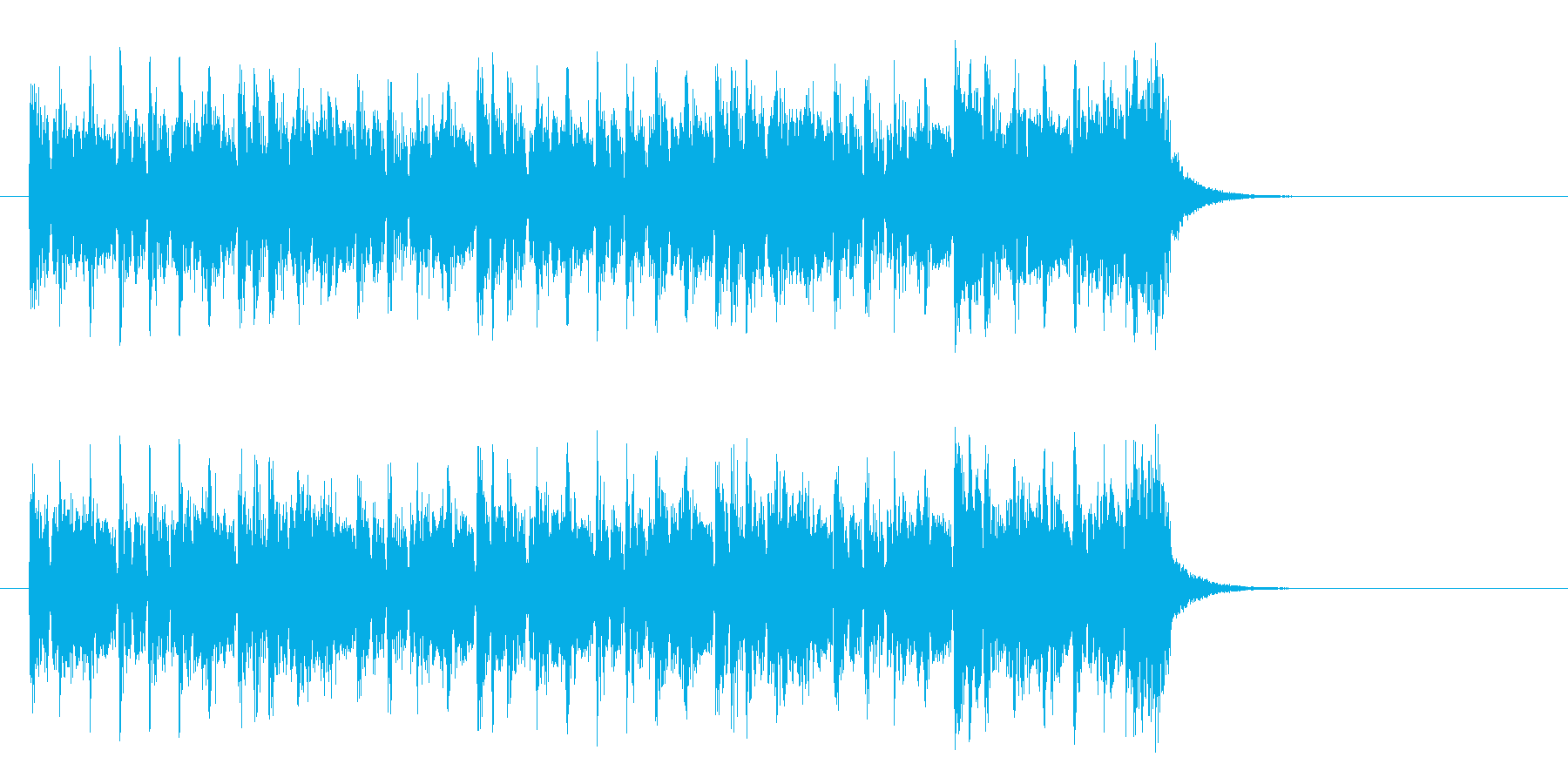 都会のマイナー・ポップス(サビ)の再生済みの波形