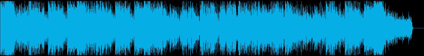 怪盗系ハードボイルドジャズ サックス生録の再生済みの波形