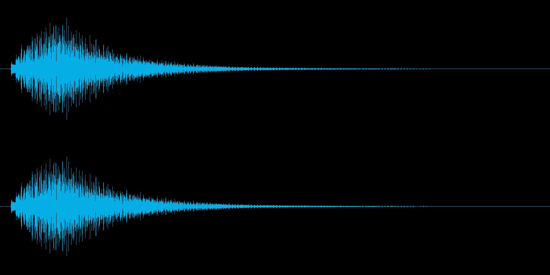 キラキラキラ/カリンバの綺麗な上昇音ですの再生済みの波形