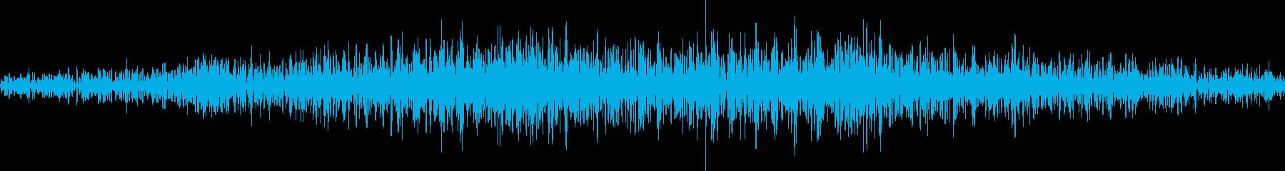 無限ループする地響き(モノラル)の再生済みの波形