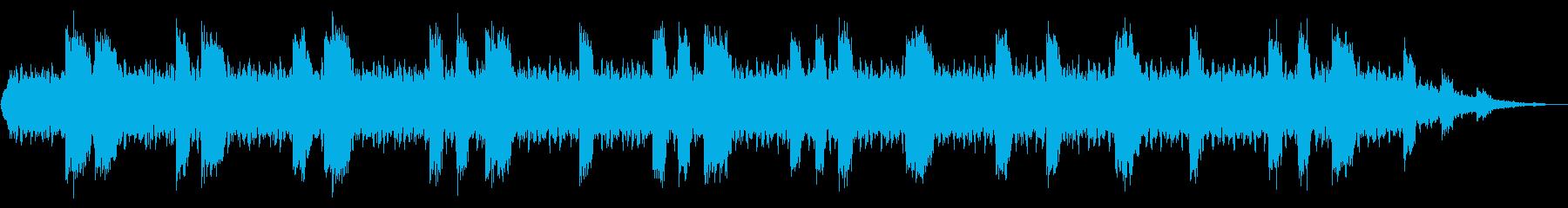 SF系の背景などにの再生済みの波形