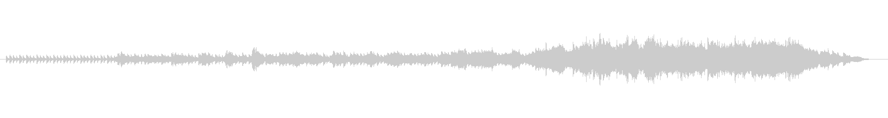 オープニングやエンディングのムービーシ…の未再生の波形