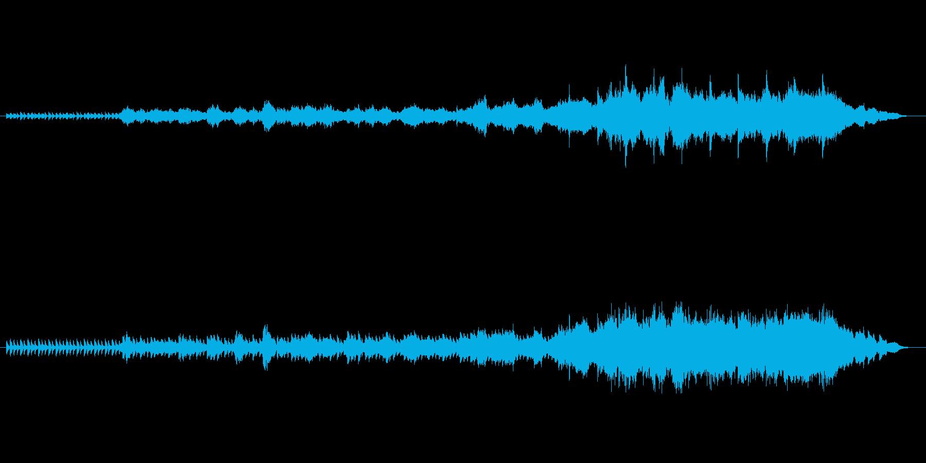 オープニングやエンディングのムービーシ…の再生済みの波形