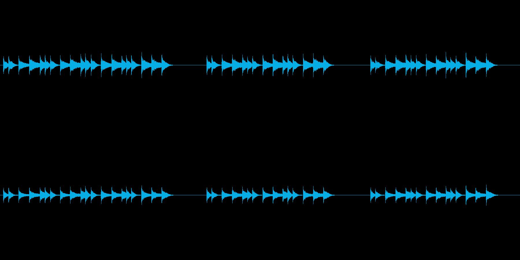 エスニックで調子外れなリズムフレーズの再生済みの波形