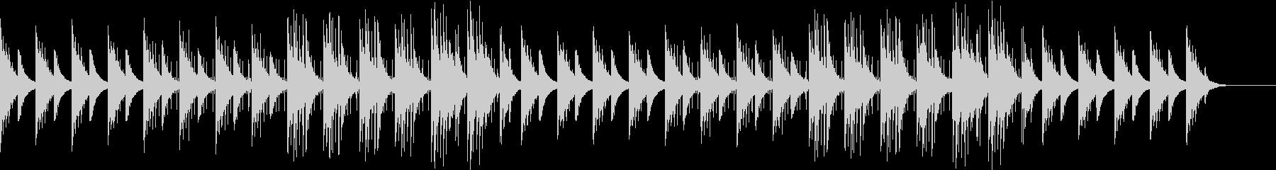 アコギが奏でるヒーリング系BGMの未再生の波形
